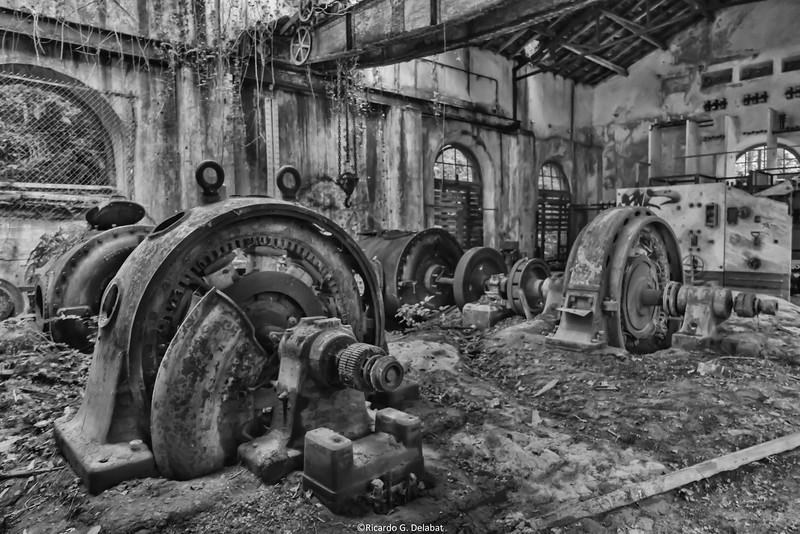 Power station abandoned