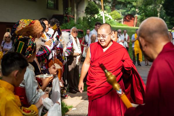 Kyabje Yongzin Ling Rinpoche Visit & Teachings