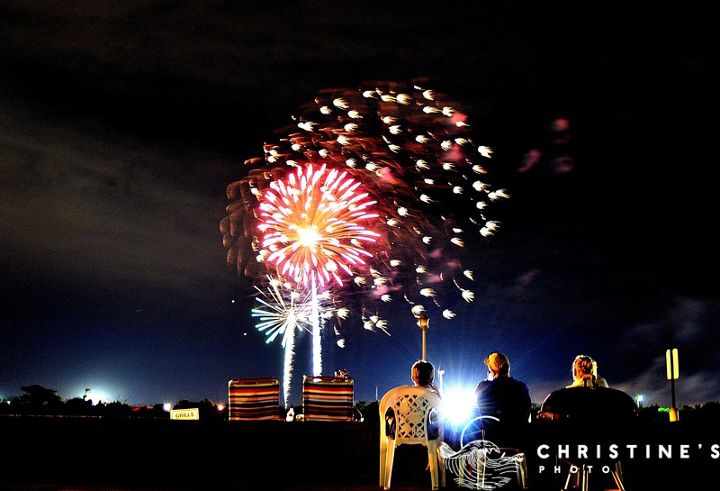 Beachside Fireworks