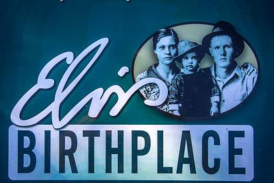 Tupelo, Memphis, Elvis, Graceland