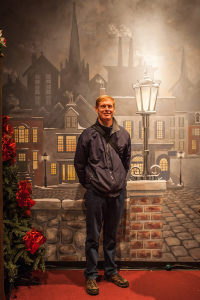 Strawbridge's old Dicken's Village lives on inside of Macy's the Comcast Center in Philadelphia at Christmastime.