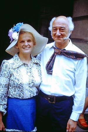 Joe and Penny's Wedding 27 July 1974