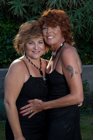 Cheryl and Jeanette May 09