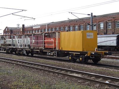 YXA - Bogie Flat Generator Wagon