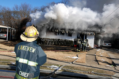 Lakeview FD House Fire 244 Coventry Road North (1/6/2010)