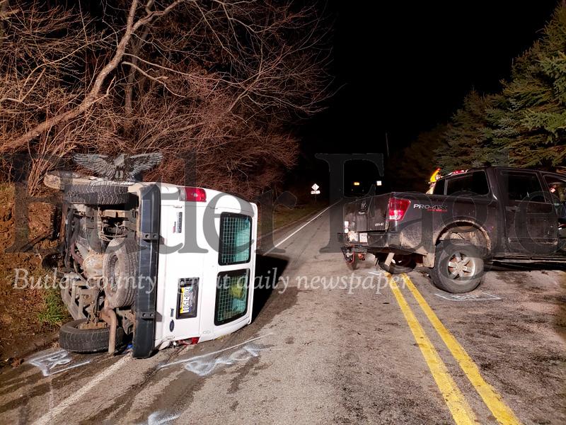 Sarver Road Wreck