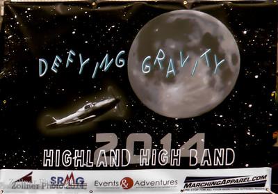 2014 Highland Marching Band