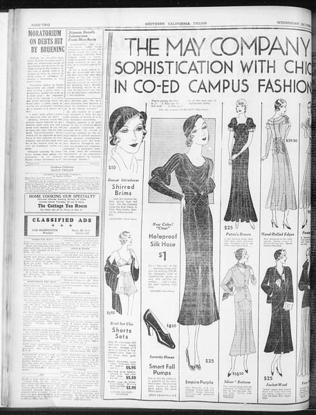 Daily Trojan, Vol. 23, No. 24, October 14, 1931