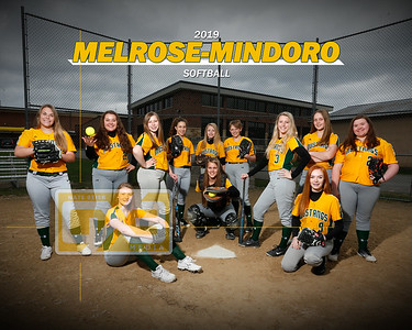 Melrose-Mindoro softball SB19