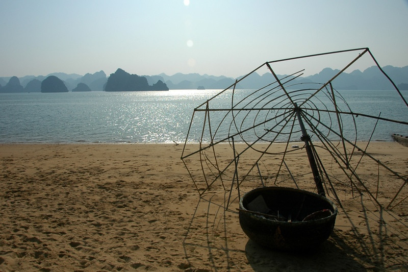 Fish Basket - Halong Bay, Vietnam