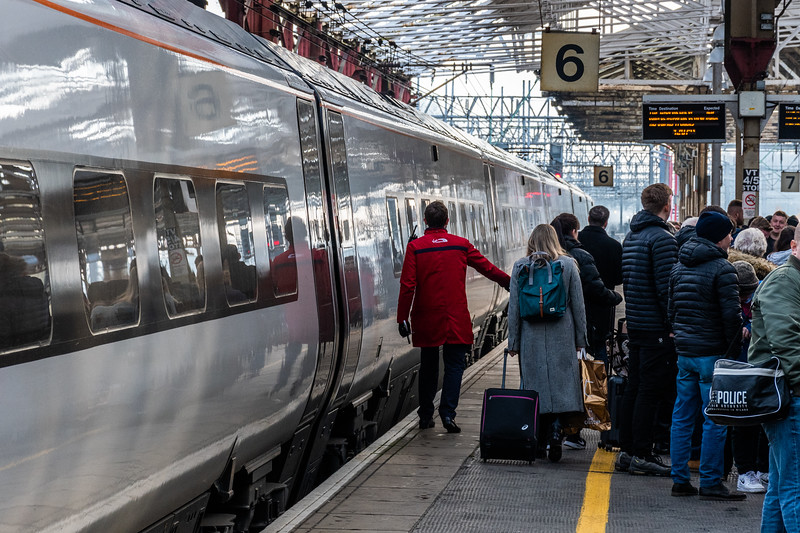Platform Management at Crewe