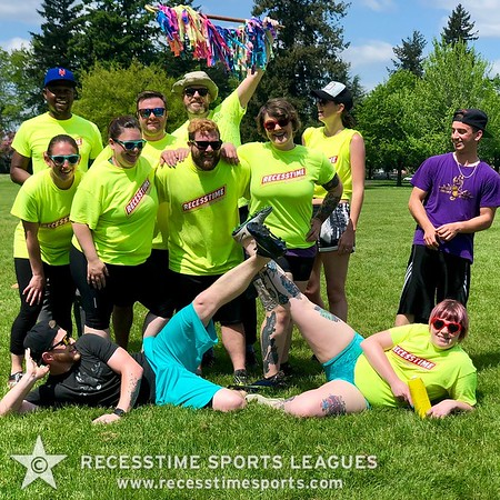Spring Kickball 2018 Recesstime Portland Kickball