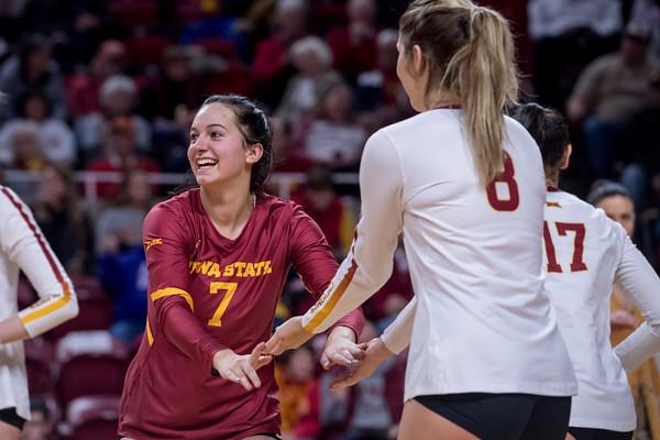 ISU Volleyball vs Texas 11/30/19