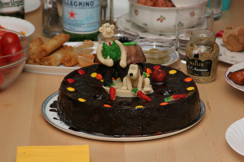That's just cracking Gromit!  Vanja turned 3 with a carrot cake (remember the Revenge of the Were-rabbit?)