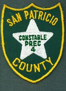 San Patricio Constable PCT 4