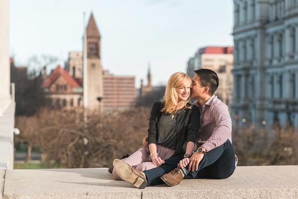 Chris & Amy Engaged!