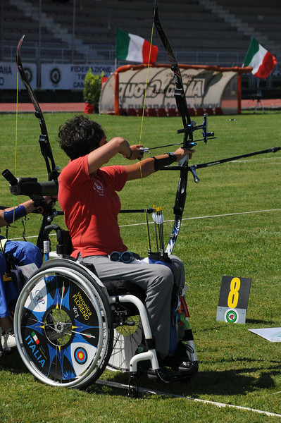 Tricolori Targa Para Archery - Sarzana 2012
