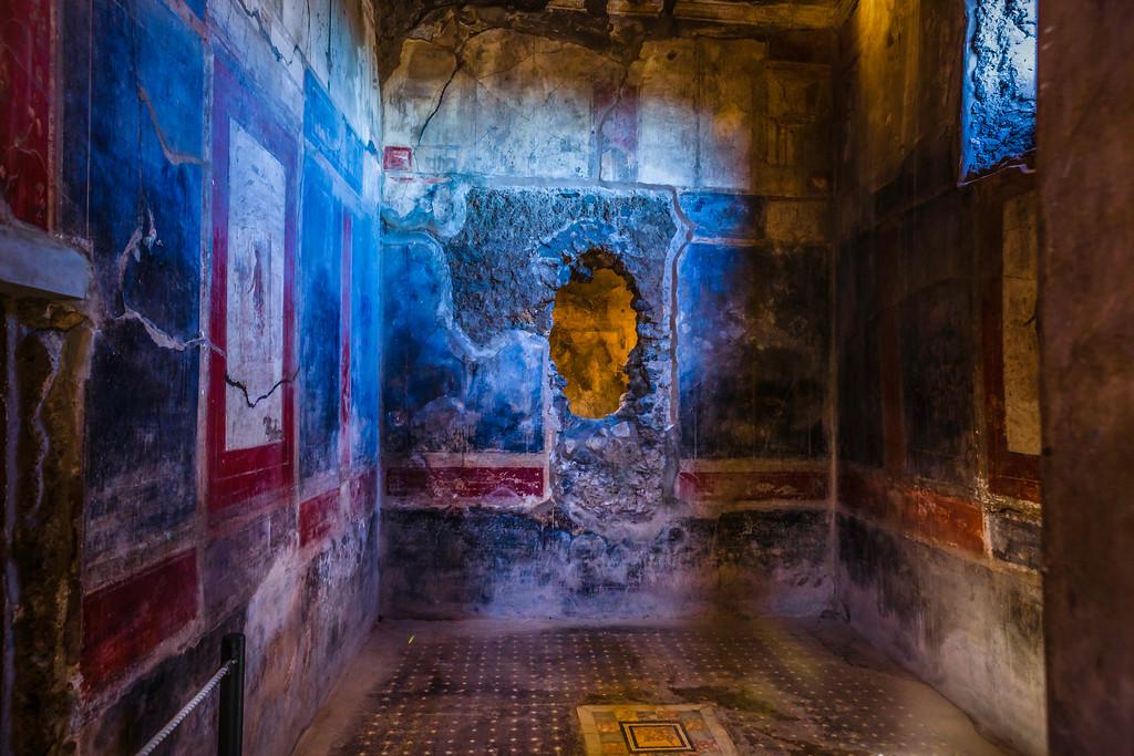 意大利一世纪古城庞贝,历史印记