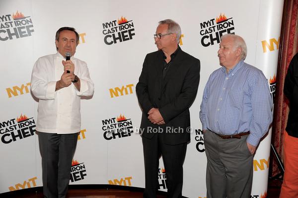 Daniel Boulud, Robert Rizzuto, Jean-Yves Piquet photo by Rob Rich/SocietyAllure.com © 2014 robwayne1@aol.com 516-676-3939