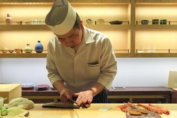 Sushi at Andaz Hotel Tokyo