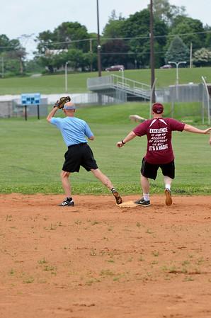 WMHS vs WHS Faculty Softball 2013