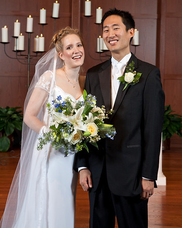 Posed Photos after the Ceremony - Jang & Hannah