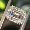 1.83ct Vintage Emerald Cut Diamond GIA F VVS2 29