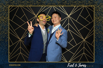 Fred and James' Wedding - September 21, 2019