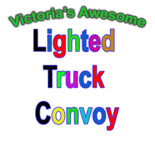 Lighted Truck Convoy 2019