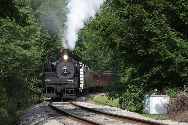 Western Maryland Shay #6 Elkins Trip