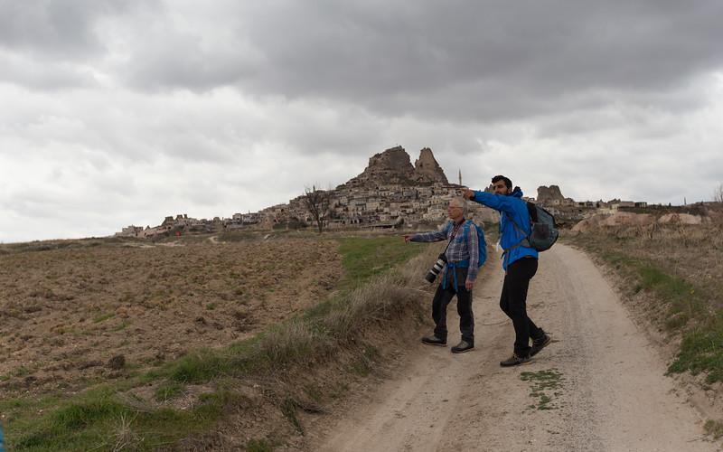 cappadocië, göreme, uchisar