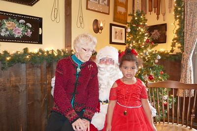 Jocelyn & Santa