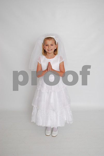 Abbey Neel's Communion Pics.