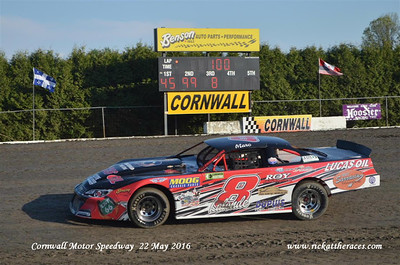Cornwall Speedway - 5/22/16 - Rick Young