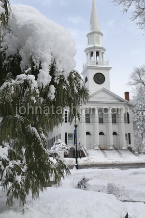 Snow Scenes in Downtown Southington