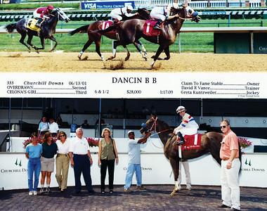 DANCIN B B - 6/13/2001