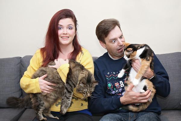 Andrea & Brian Cats