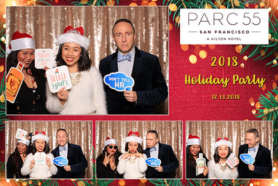 Parc 55 Holiday Party 2018