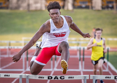 Jerry Crews Inv. 300 Intermediate Hurdles - Boys