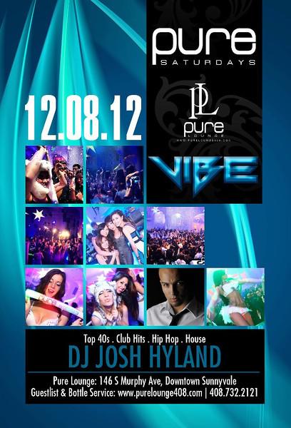 12/8 [Vibe@Pure Lounge]
