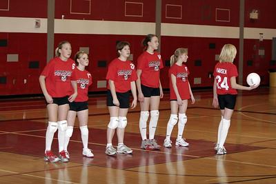 Girls Volleyball 8B - 2/14/2007 Tri County