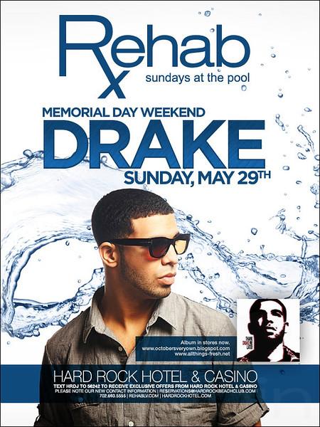 Drake @ Rehab Hard Rock Hotel 5.29.11