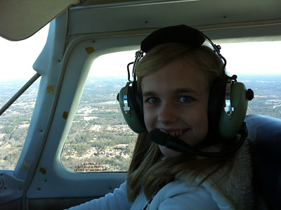 Flying with Bryn and Betsy