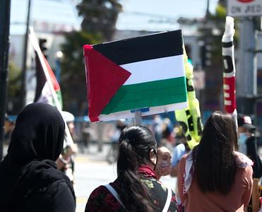 22May2021 San Francisco:  Palestinian Day of Action