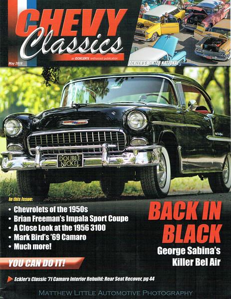 1955 Chevrolet Bel Air Back in Black