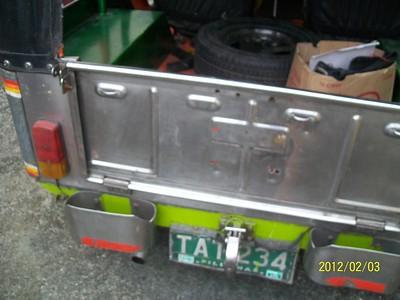 Ptr Jack's 1st 4 wheel vehicle Feb 2012