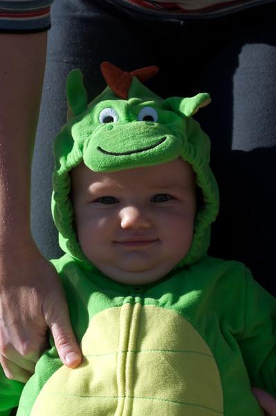 First Halloween - Little Dragon
