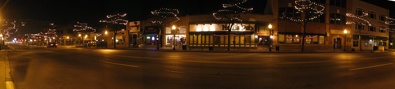 Royal Oak Thanksgiving Late Night Panoramics