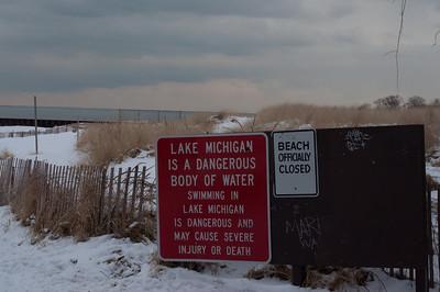 Icy Lake Michigan 1/2011