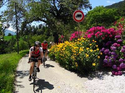 Cycling Italy's Dolomites Plus! the Sella Ronda 2017 Jul 10